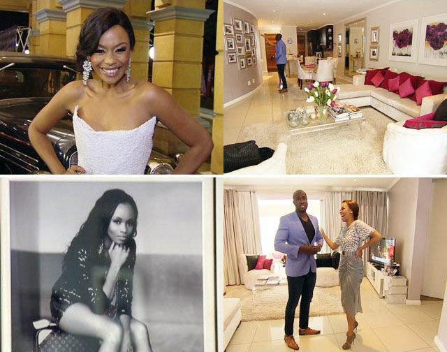 At home with Bonang Matheba on Top billing